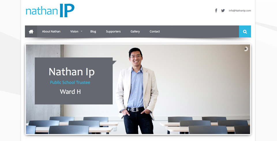 Nathan Ip homepage